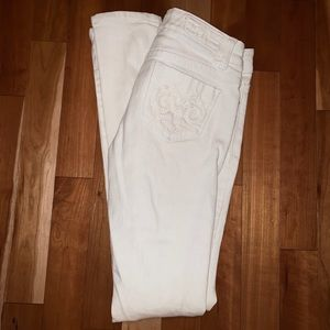 ✨Never worn White Premium Ten25 Denim Skinny Jean